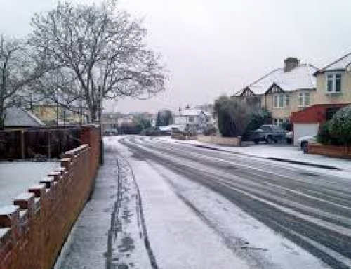Winter Gritting Routes in Havering