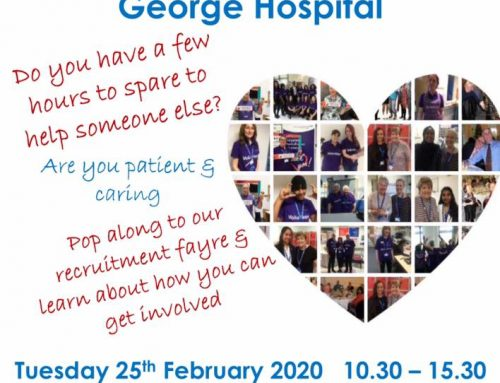 Queen's Hospital Volunteer Recruitment Event – 25 February