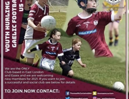 Players wanted for local youth Gaelic Football Club