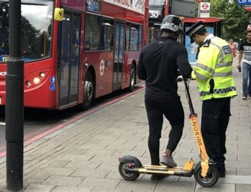 Motorised scooters and the law